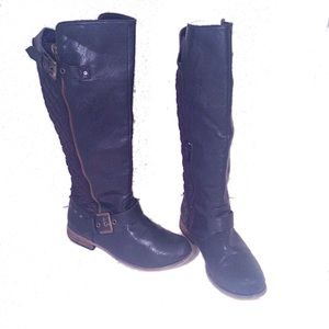 Steve Madden Gaige Quilted Over the Knee Boots
